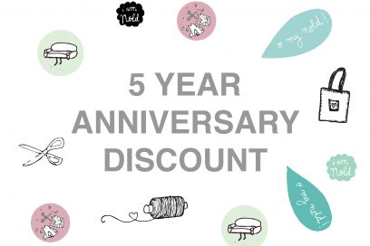 5 Year Anniversary Discount
